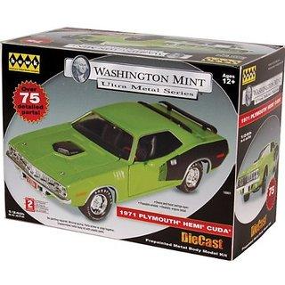 Hawk Washington Mint Ultra Metal Series 1971 Plymoth Hemi Cuda Green