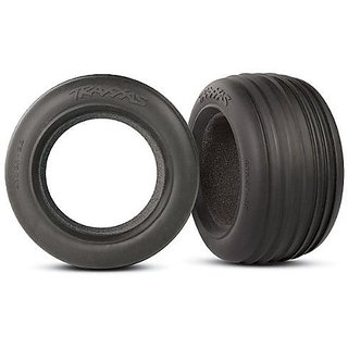 Traxxas 5563 Tires Ribbed Front 2.8 With Inserts, Jato, 2-Piece