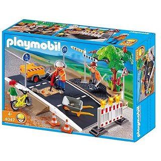 Playmobil Road Construction Set