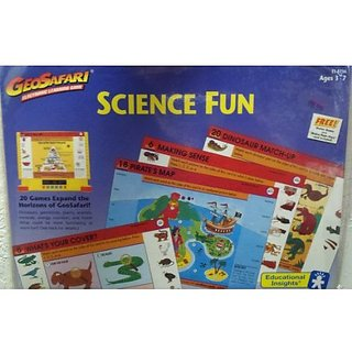 GeoSafari Electronic Learning Game Card Set: Science Fun