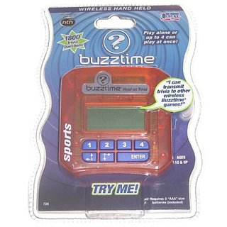 Buzztime Head-On Trivia Challenge: Sports 726 NTN Handheld Game