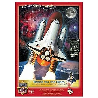 Master Pieces Reach For The Stars Glow 550 Piece Jigsaw Puzzle