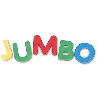Jumbo Uppercase Magnetic Letters, Set Of 40