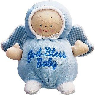 Gund Plush Angel Rattle God Bless Baby