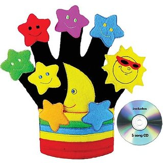Get Ready Childrens Stars In The Sky Glove Puppet/CD