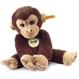 Steiff Little Friend Koko Monkey Plush, Dark Brown