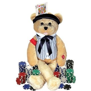 Chantilly Lane Musical Bear &Quot; Sings &Quot; The Gambler Song