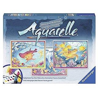 Ravensburger Aquarelle Ocean World Arts &Amp; Crafts Kit Playset