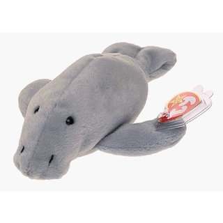 TY Beanie Baby - MANNY The Manatee (4th Gen Hang Tag)