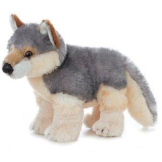 Aurora Plush Wily Wolf Flopsie - 12&Quot;