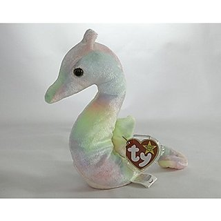 Plüschtiere Neon Green Seahorse Mcdonalds Happy Meal Toy 13