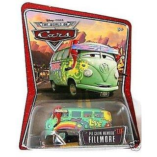 Fillmore Pit Crew Member Disney Pixar World Of Cars 1:55 Scale Mattel