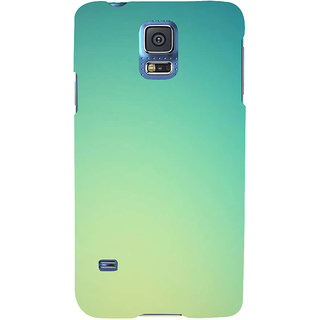 Ifasho Designer Back Case Cover For Samsung Galaxy S5 Mini :: Samsung Galaxy S5 Mini Duos :: Samsung Galaxy S5 Mini Duos G80 0H/Ds :: Samsung Galaxy S5 Mini G800F G800A G800Hq G800H G800M G800R4 G800Y (Empty Blank Nothing Ivory )