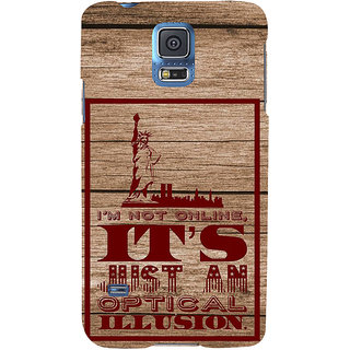 Ifasho Designer Back Case Cover For Samsung Galaxy S5 Mini :: Samsung Galaxy S5 Mini Duos :: Samsung Galaxy S5 Mini Duos G80 0H/Ds :: Samsung Galaxy S5 Mini G800F G800A G800Hq G800H G800M G800R4 G800Y (Confusion Illusion Fantasy)