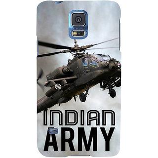 Ifasho Designer Back Case Cover For Samsung Galaxy S5 Mini :: Samsung Galaxy S5 Mini Duos :: Samsung Galaxy S5 Mini Duos G80 0H/Ds :: Samsung Galaxy S5 Mini G800F G800A G800Hq G800H G800M G800R4 G800Y (Indian Army Indian Navy Pilot Driver )