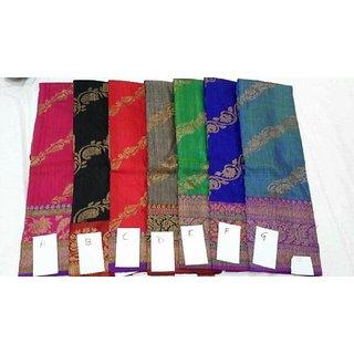 Pure Banarasi Dupion Silk Sarees
