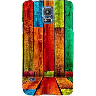 Ifasho Designer Back Case Cover For Samsung Galaxy S5 Mini :: Samsung Galaxy S5 Mini Duos :: Samsung Galaxy S5 Mini Duos G80 0H/Ds :: Samsung Galaxy S5 Mini G800F G800A G800Hq G800H G800M G800R4 G800Y (Dogs Fox News Wood Vinyl)