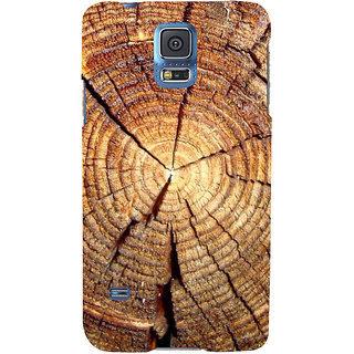 Ifasho Designer Back Case Cover For Samsung Galaxy S5 Mini :: Samsung Galaxy S5 Mini Duos :: Samsung Galaxy S5 Mini Duos G80 0H/Ds :: Samsung Galaxy S5 Mini G800F G800A G800Hq G800H G800M G800R4 G800Y (Ls Magazine Sears V Wood Wall Clock)
