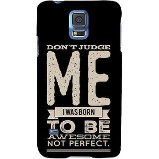 Ifasho Designer Back Case Cover For Samsung Galaxy S5 Mini :: Samsung Galaxy S5 Mini Duos :: Samsung Galaxy S5 Mini Duos G80 0H/Ds :: Samsung Galaxy S5 Mini G800F G800A G800Hq G800H G800M G800R4 G800Y (Don?T Judge Me American)