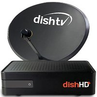 DISHTV HD+ Connection with 1st month free Full Pack