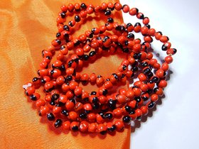 Natural Lal Gunja Mala for Pooja Healing Japa 108 Chirmi beads