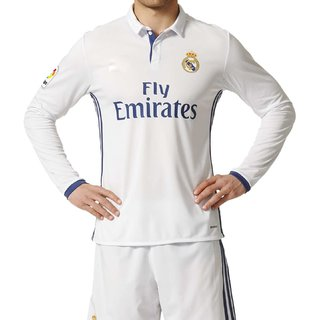 Navex Real Madrid Full Sleeve White Jersey