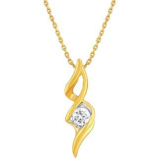 Asmi Diamond Pendant ADP00179SI-JK14Y