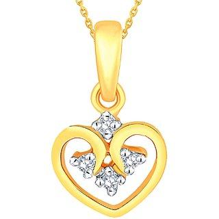Maya Diamond Diamond Pendant MDP00028SI-JK14Y