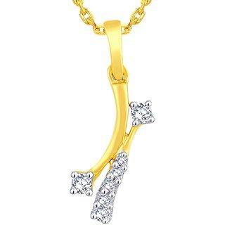 Gili Diamond Pendant BAP396SI-JK14Y