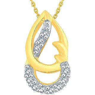 Asmi Diamond Pendant IDP00492SI-JK14Y