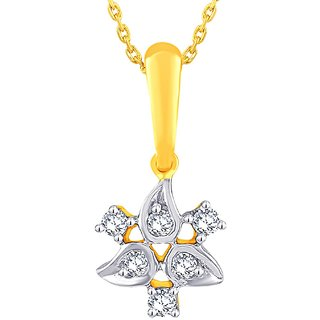 Gili Diamond Pendant GIP00039SI-JK14Y