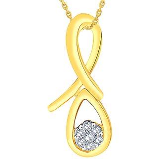 Nirvana Diamond Pendant RDP00136SI-JK14Y