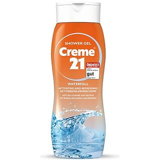 Creme 21 Oriental Waterfall Shower Gel With Sea Minerals & Menthol 250 Ml