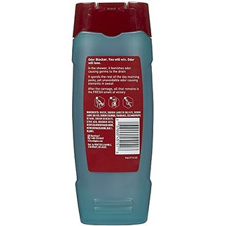 Old Spice M-Bb-1871 Odor Blocker Body Wash, Deo Sport - 16 Oz - Body Wash