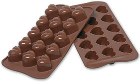 Kudos Cooltrends Silicon Chocolate - Heart 15 - Cup Mould (Pack Of 1)