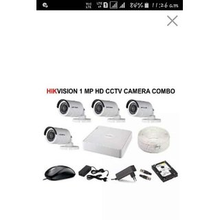 Hikvision 1 MP HD CCTV Camera Kit