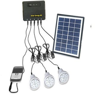 Solar Home LED Lighting System