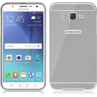 PREMIUM QUALITY MIRROR BACK COVER FOR SAMSUNG GALAXY  A5 SILVER