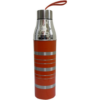 Insulated hot  cold water bottle 1000 ml- orange