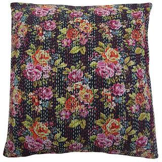 Kantha Decorative Cushion Cover(Design 2)