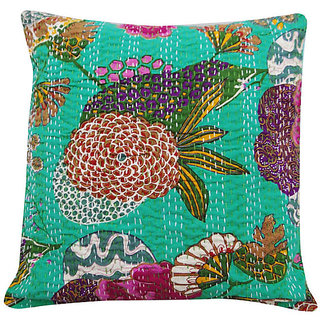 Kantha Decorative Cushion Cover(Design 3)