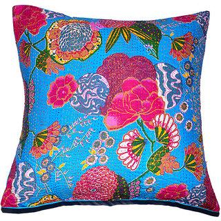 Kantha Decorative Cushion Cover(Design 4)