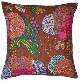 Kantha Handmade Cushion Cover(Option 4)