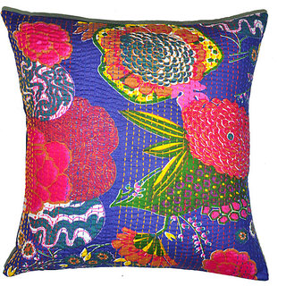 Kantha Decorative Cushion Cover(Design 5)