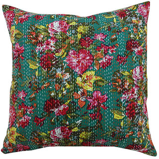 Kantha Handmade Cushion Cover(Option 7)