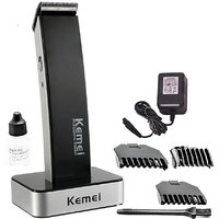 Kemei KM-619 Professional Cordless Trimmer For Men (Black)