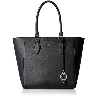 Womens Handbag Material  Leather Colour Black