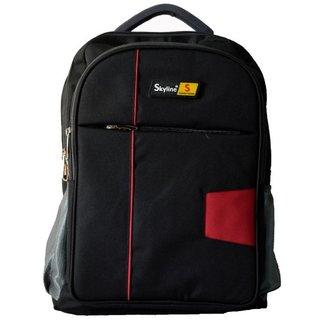 Skyline Laptop Backpack-Office Bag/Casual Unisex Laptop Bag-With Warranty-816 BLACK