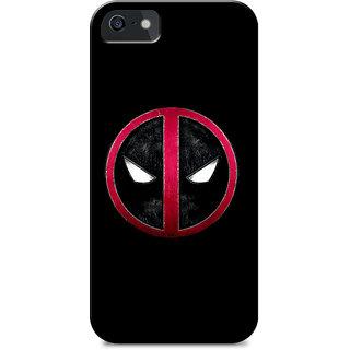 premium selection 00e4f 37514 iPhone 5s Deadpool Fanart Cases Back Cover Design Print