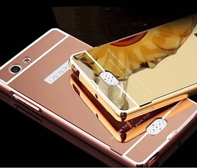 LUXURY PREMIUM QUALITY MIRROR BACK COVER FOR OPPO NEO5 ROSEGOLD